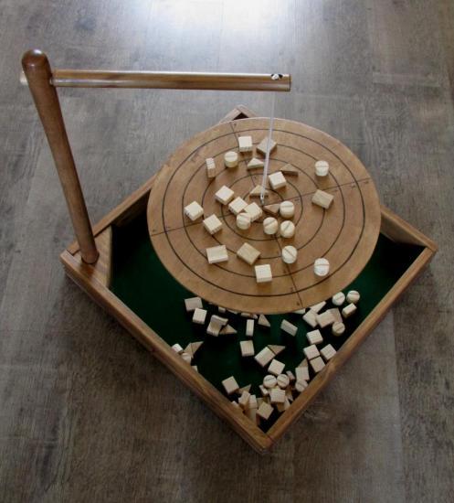 jeu d'équilibre.
