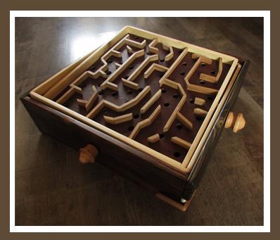 Jeu du labyrinthe.