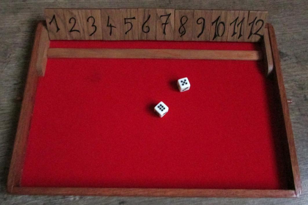 Boite à chiffres simple, 12 chiffres.